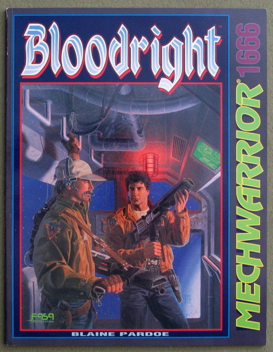 Bloodright (Battletech/Mechwarrior), Blaine Pardoe