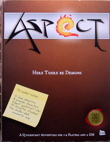 Here There Be Demons (Aspect) - Free RPG Day 2011, Paul Gunn