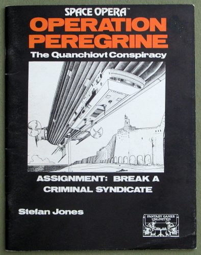 Operation Peregrine: The Quanchiovt Conspiracy (Space Opera), Stefan Jones