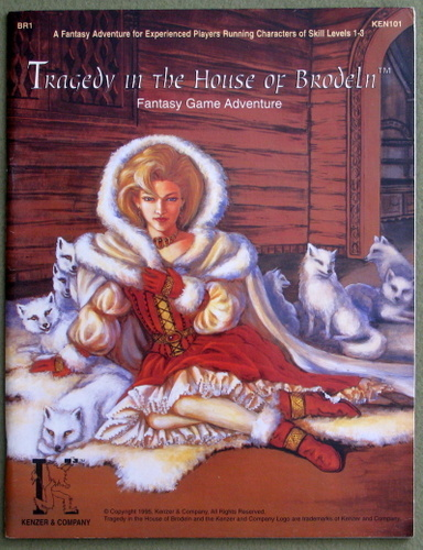 Tragedy in the House of Brodeln (Kingdoms of Kalamar: AD&D Fantasy Game Adventure BR1), Brian Jelke