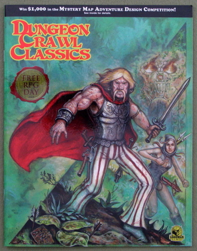 Dungeon Crawl Classics: The Undulating Corruption & The Jeweler that Dealt in Stardust - Free RPG Day 2012, Michael Curtis & Harley Stroh