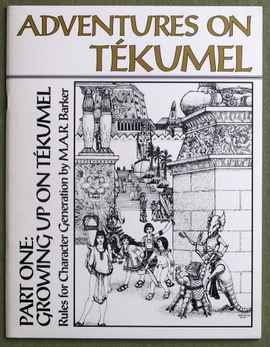 Adventures on Tekumel, pt. 1: Growing up on Tekumel, M.A.R. Barker