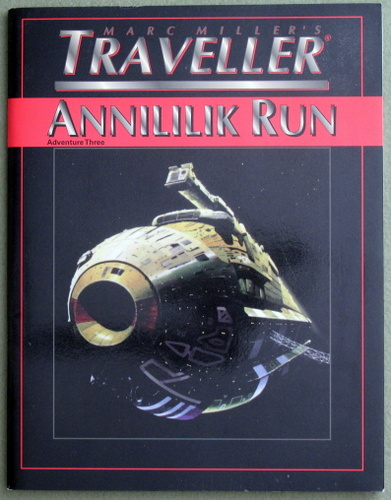 Annililik Run (T4 - Marc Miller's Traveller), James M. Ward