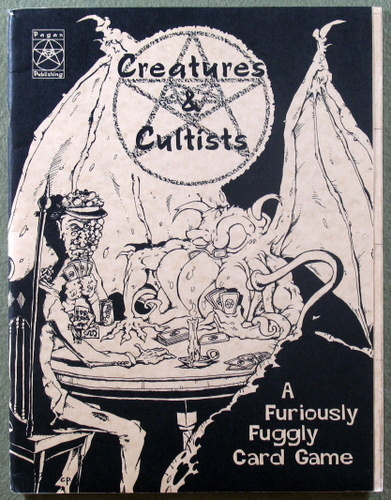 Creatures & Cultists!: The Furiously Fuggly Card Game, Jeff Barber & John Tynes