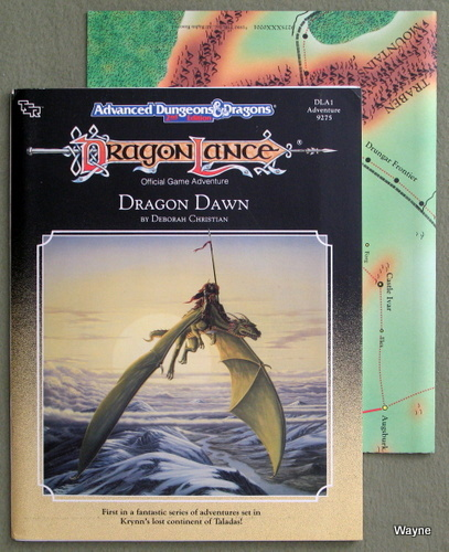 Dragon Dawn (Advanced Dungeons & Dragons/Dragonlance Module DLA1), Deborah Christian
