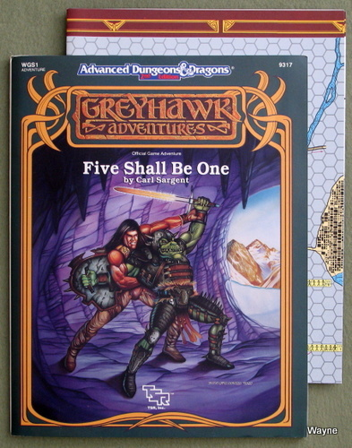 Five Shall Be One (Advanced Dungeons & Dragons/Greyhawk Module WGS1), Carl Sargent
