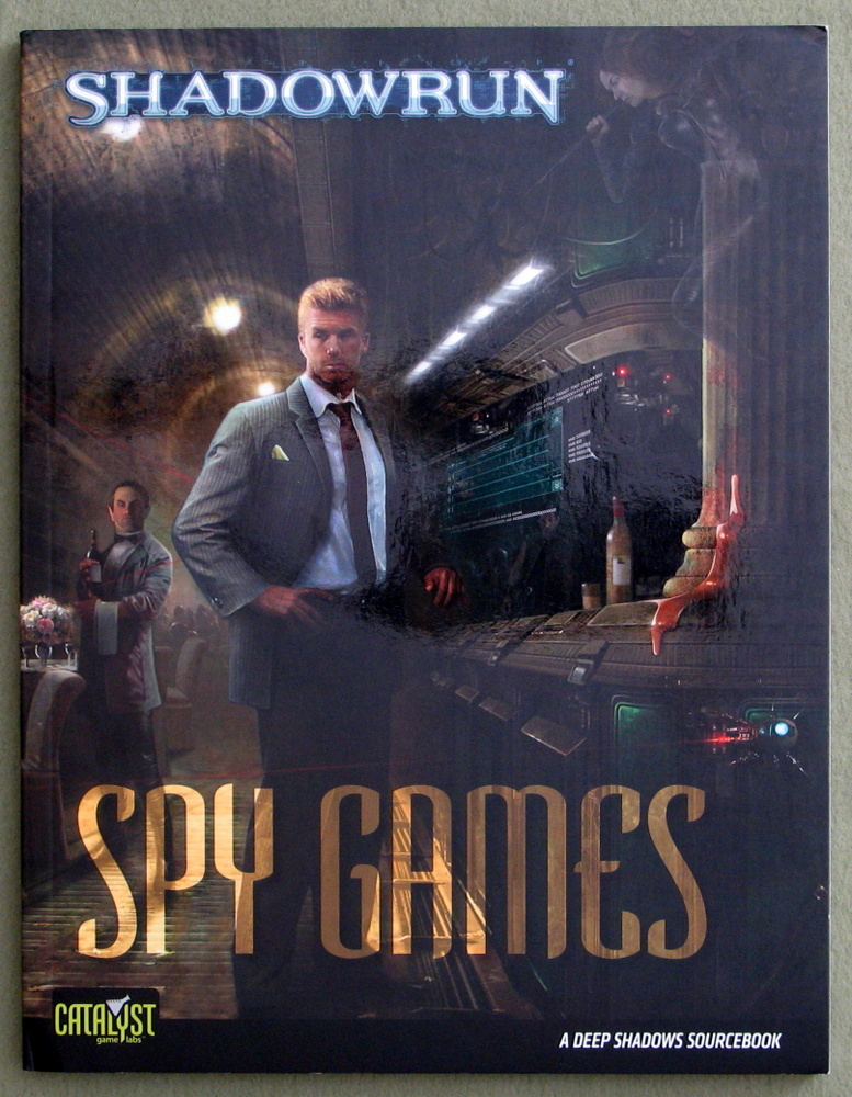 Spy Games: A Deep Shadows Sourcebook (Shadowrun)