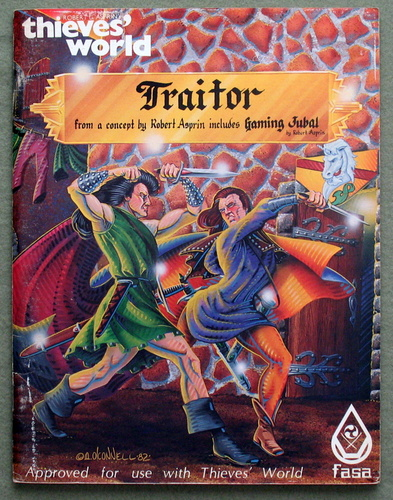 Traitor (Thieves World RPG Adventure), Robert Asprin