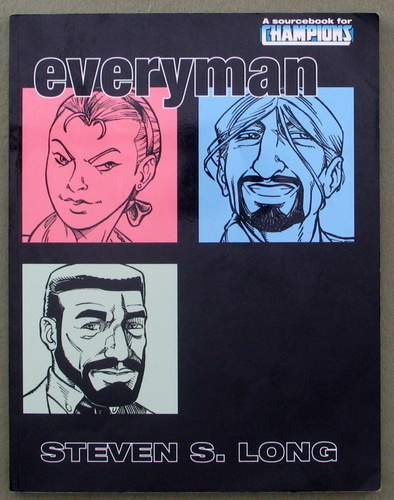 Everyman (Champions RPG), Steven S. Long