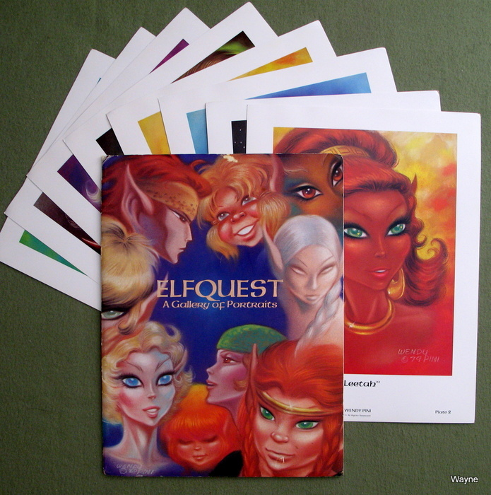 Elfquest Portfolio 2: A Gallery of Portraits, Wendy Pini