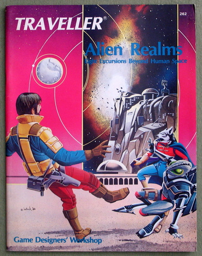 Alien Realms: Eight Excursions Beyond Human Space (Traveller), Timothy B. Brown & J. Andrew Keith