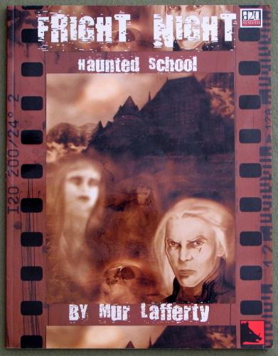 Fright Night Haunted School (D20 System), Mur Lafferty