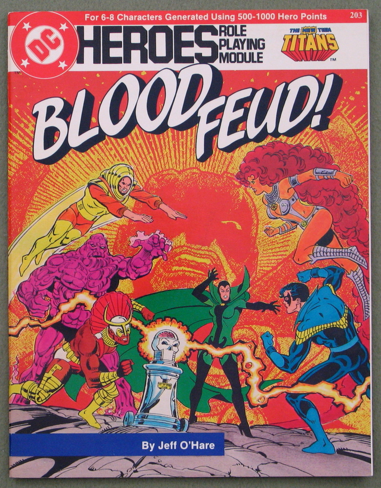 Blood Feud! (DC Heroes role playing game), Jeff O'Hare