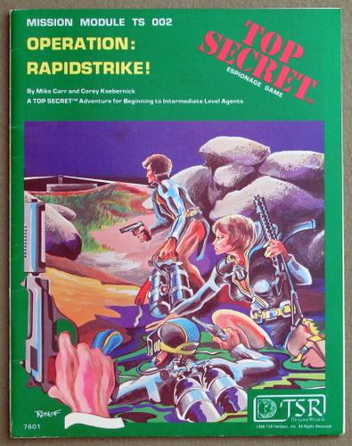 Operation Rapidstrike! (Top Secret RPG Module TS002), Merle Rasmussen