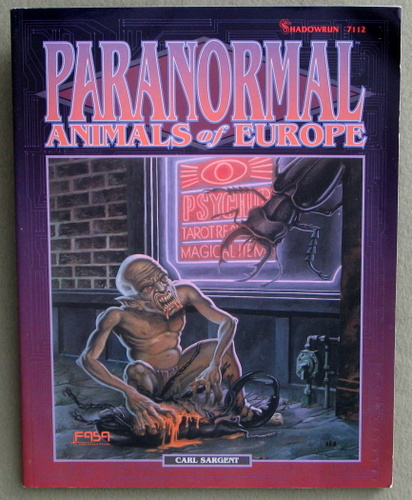 Paranormal Animals of Europe (Shadowrun), Carl Sargent