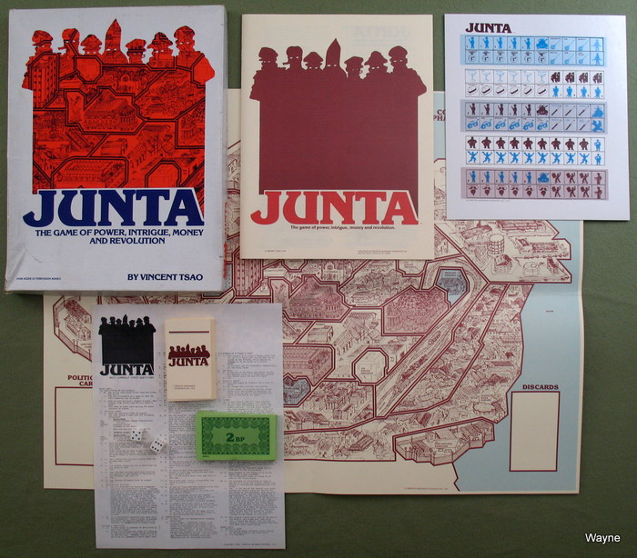 Junta: The Game of Power, Intrigue, Money and Revolution