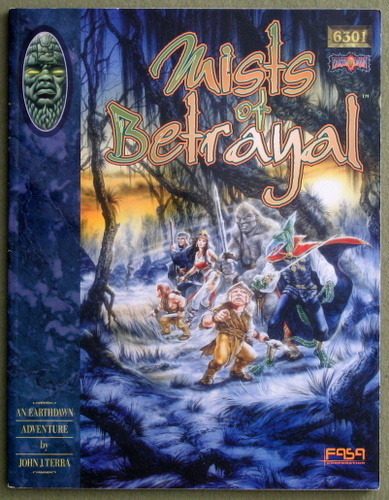 Mists of Betrayal (Earthdawn RPG), John J. Terra