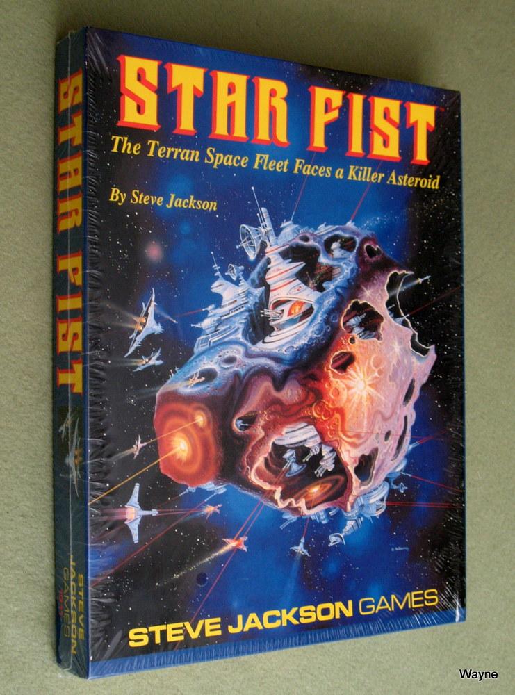 Star Fist Boxed Game (The Terran Space Fleet Faces a Killer Asteroid)
