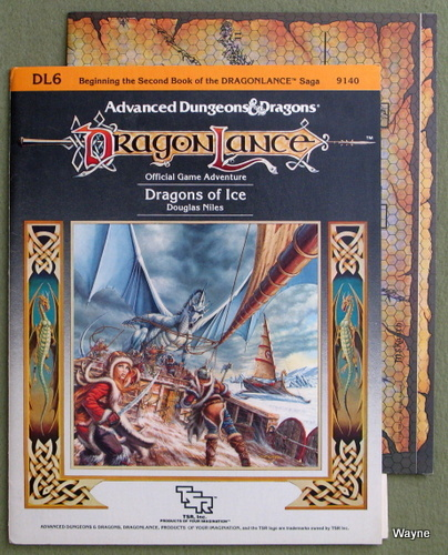 Dragons of Ice (Advanced Dungeons & Dragons: Dragonlance adventure DL6), Douglas Niles