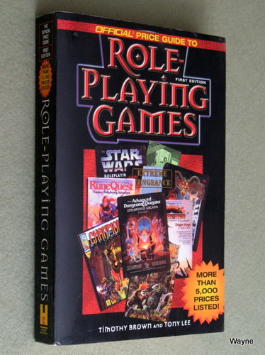 Official Price Guide to Role Playing Games