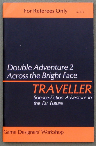 Traveller Double Adventure 2: Across the Bright Face / Mission on Mithril, Marc Miller