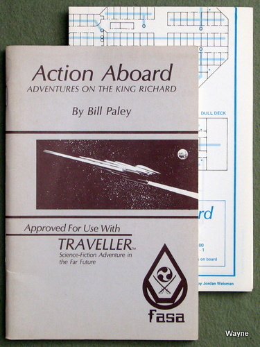 Action Aboard: Adventures on the King Richard (Traveller RPG), Bill Paley