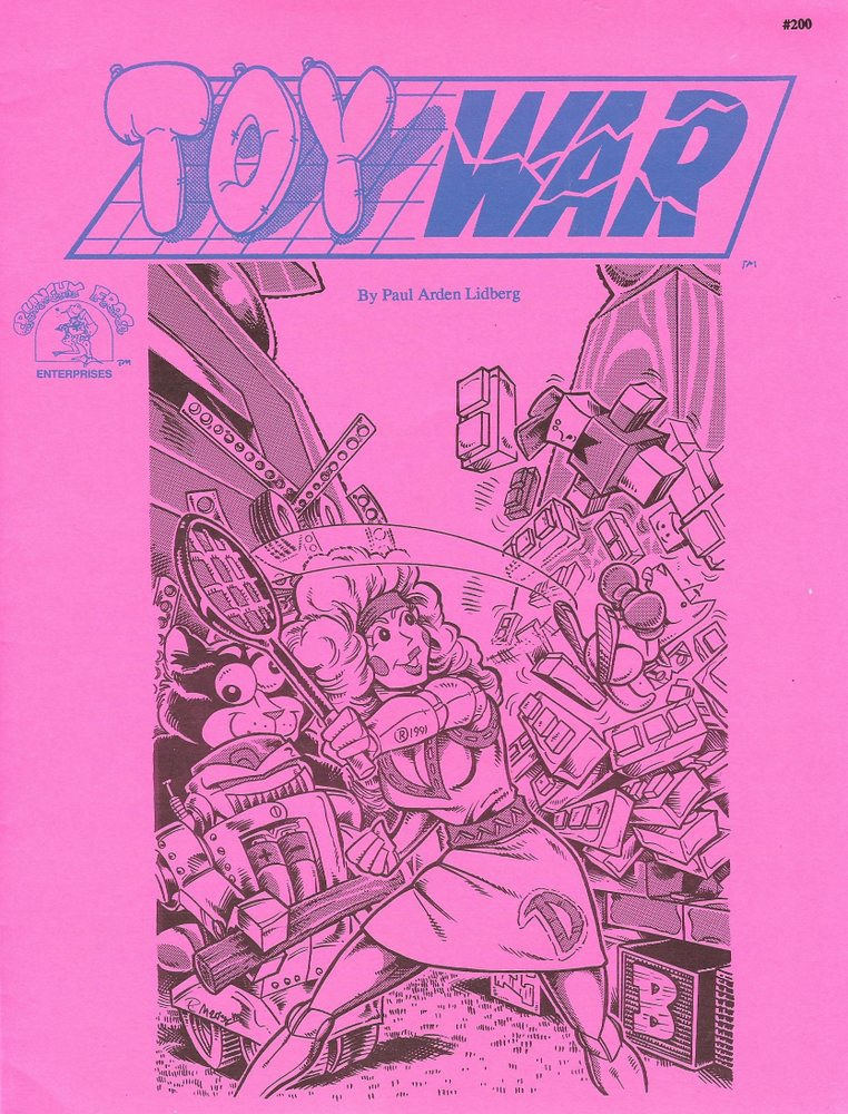 Toy War: Game for Kids & Adults, Paul Arden Lidberg