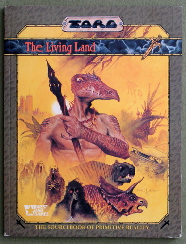 The Living Land: The Sourcebook of Primitive Reality (TORG)
