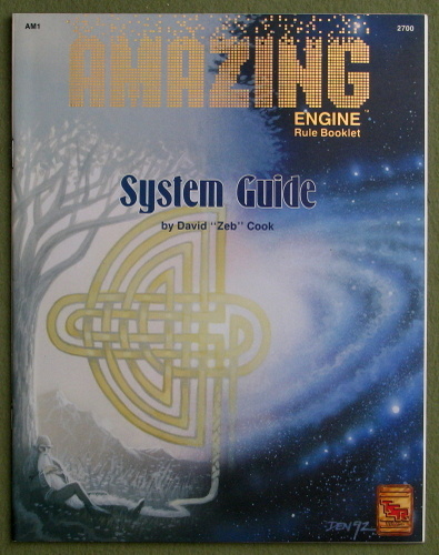 "Amazing Engine: System Guide, David ""Zeb"" Cook"