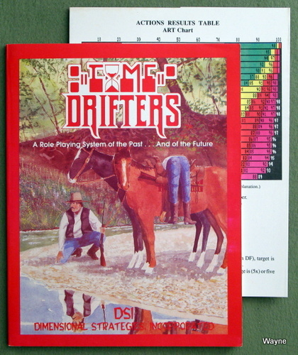 Time Drifters (A Role Playing System of the Past... And of the Future)