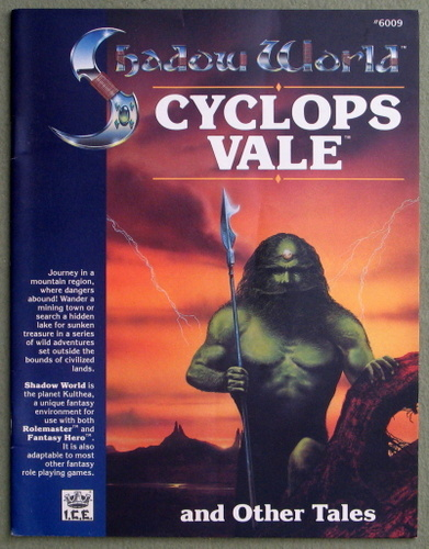 Cyclops Vale and Other Tales (Shadow World/Rolemaster), Tim Taylor