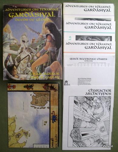 Gardásiyal (Gardasiyal): Deeds of Glory (Adventures on Tekumel), M.A.R. Barker & Neil R. Cauley