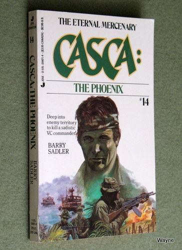 Casca the Phoenix (#14), Barry Sadler