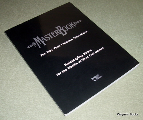 MasterBook - Universal Role Playing Game System