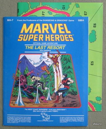Last Resort (Marvel Super Heroes module MH7), Kim Eastland