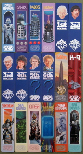 Doctor Who Bookmarks: Who Dares Series of 18