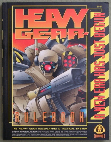 Heavy Gear Rulebook