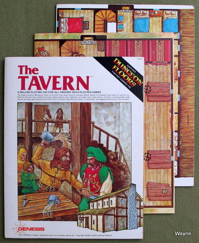 The Tavern: A Deluxe Playing Aid for All Fantasy Role-Playing Games