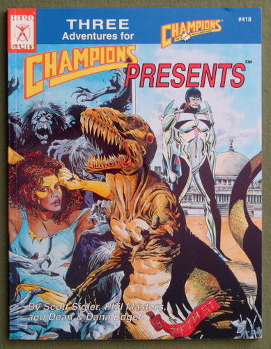 Champions Presents: Three Adventures for Champions