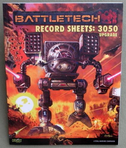 Battletech Record Sheets 3050 Upgrade