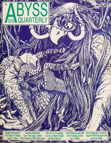 Abyss Quarterly #50 (Winter '92/'93), David Nalle