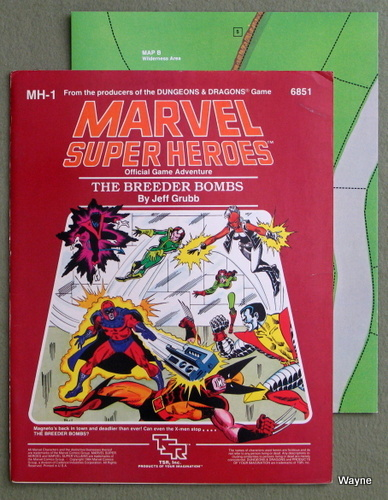 The Breeder Bombs (Marvel Super Heroes module MH1), Jeff Grubb