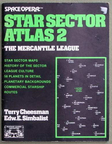 Star Sector Atlas 2 - The Mercantile League (Space Opera), Terry Cheesman & Edward E. Simbalist