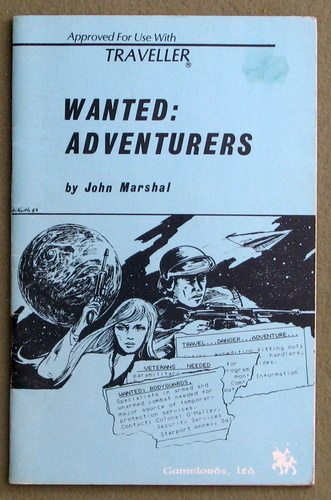 Wanted: Adventurers (Traveller), John Marshal