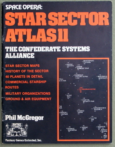 Star Sector Atlas 11 - The Confederate Systems Alliance (Space Opera), Phil McGregor