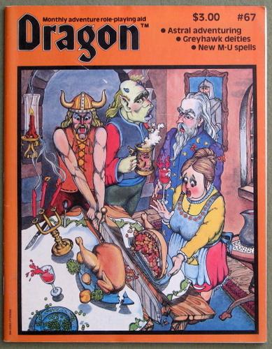 Dragon Magazine, Issue 67