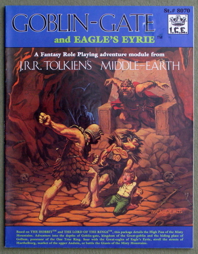 Goblin Gate and Eagle's Eyrie (Middle Earth Role Playing/MERP)