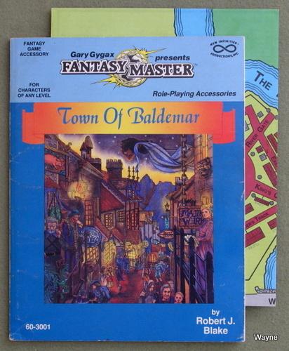 Town of Baldemar (Fantasy Master) - PLAY COPY, Robert J. Blake & Gary Gygax
