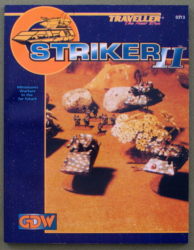 Striker II: Miniatures Warfare in the Far Future (Traveller: The New Era), Frank Chadwick & David Nilsen