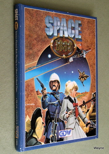 Space 1889: Science Fiction Role Playing in a More Civilized Time, Frank Chadwick